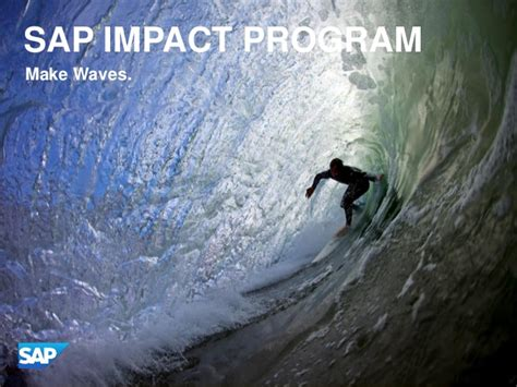 Https Www Slideshare Net Fmisbell Sap Mba Impact Overview 2016 by Sap Mba Impact Overview 2016
