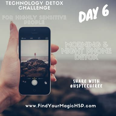 Technology Detox by Find Your Magic As A Highly Sensitive Person Find