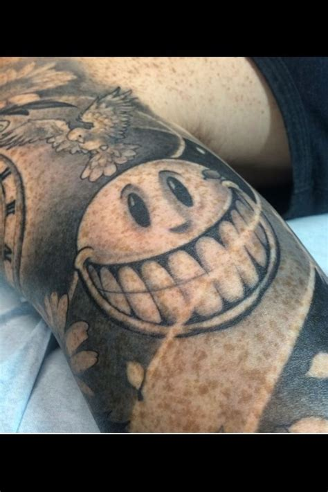 small smiley face tattoo 17 best ideas about smiley tattoos on sad