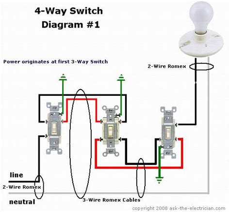 how to wire 4 way switch devices integrations smartthings community