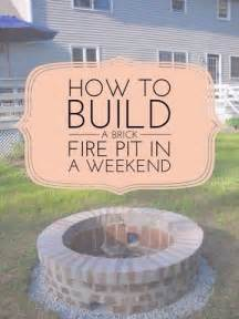 how to make a brick pit in your backyard 25 best ideas about brick pits on