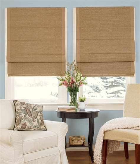drapes over woven roman shades for the home pinterest country curtains roman blinds curtain menzilperde net