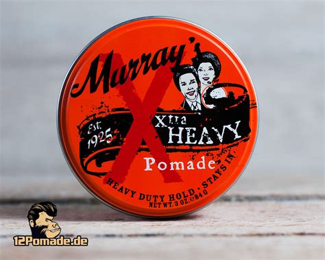 Pomade Murray S Heavy murray s x tra heavy pomade sehr fester halt 85 g
