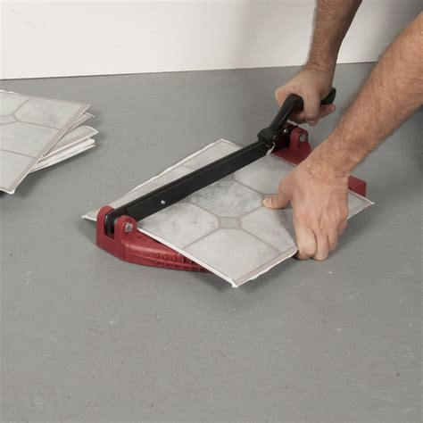 """12"""" Vinyl Tile Cutter   Roberts Consolidated"""