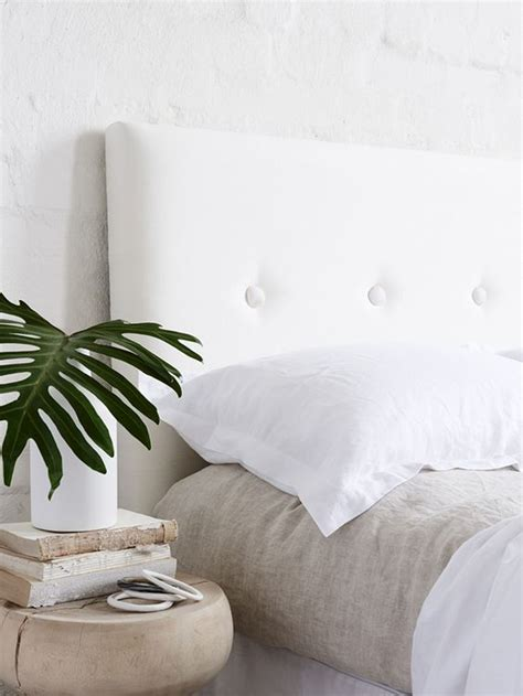 white button headboard chicdeco blog modern tufted headboards