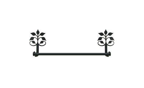 wrought iron bathroom towel bars wrought iron small towel bar rack leaf fan bathroom
