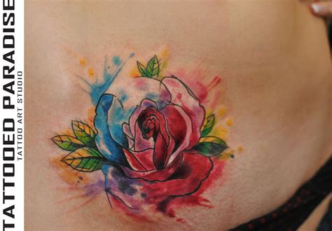 tutorial watercolor tattoo watercolor rose by dopeindulgence abstract watercolor