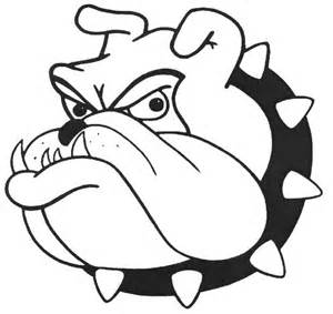 bulldog coloring pages go bulldogs coloring pages