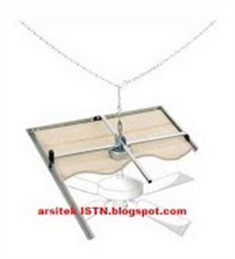 Sambungan Besi Kuning Sambungan Selang 14 Inch membuat plafond gantung atau drop ceiling arsitek istn