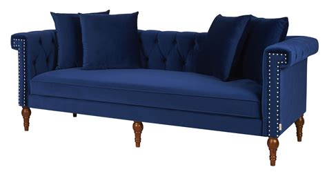 navy sofas uk fabric wooden chesterfield sofa navy blue