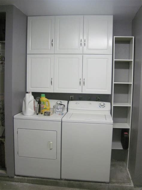 garage laundry room 11 best images about shelving ideas on shelves washer and countertop