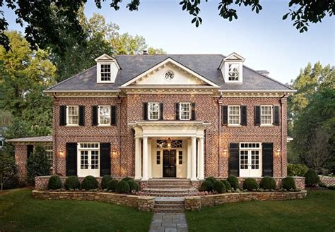 Shutters On Brick House by Brick And Shutters For The Home