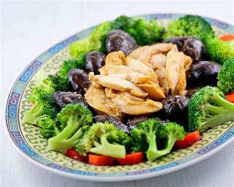 new year vegetable dishes braised mushrooms and abalone malaysian kitchen