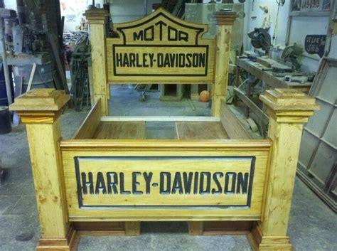 Harley Davidson Headboard by Harley Davidson Headboard Go Look At Harley Davidson Board Harley Davidson Beds Stuff