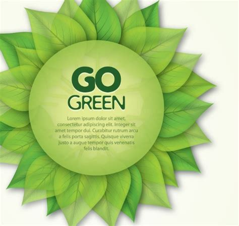 Go Green Concept Drawings