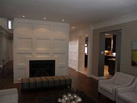 coffered wall feature wall coffered ceiling traditional living