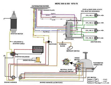 hp mercury outboard wiring diagram sample