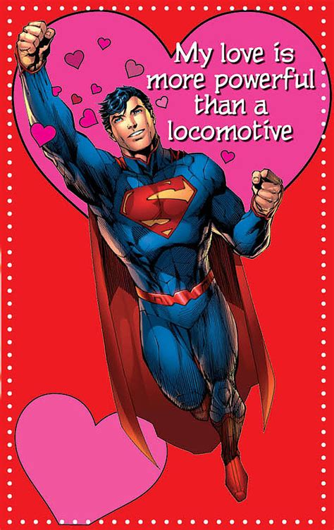 superman valentines this proves superman is quite the charmer
