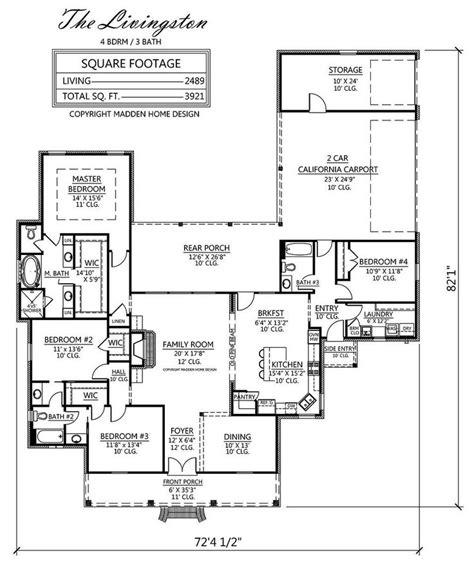 madden home design house plans madden home design the livingston house plans pinterest