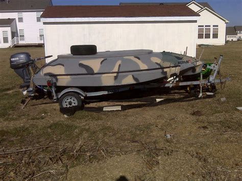 used tdb duck boats for sale my new to me duck fishing boat pelican parts forums