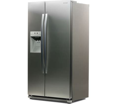 Fridge Freezers American Style No Plumbing by Buy Daewoo Drq29npes American Style Fridge Freezer Silver Free Delivery Currys
