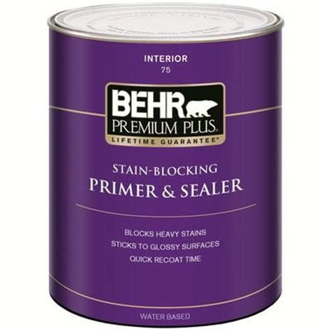 home depot paint with primer included behr premium plus interior enamel undercoater primer