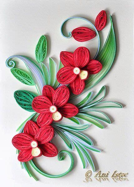 paper quilling orchid tutorial printre hobby uri quilling kusudama origami bijuterii