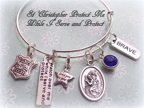 Gifts For A Officer by Officer Charm Bracelet Gift For Officer