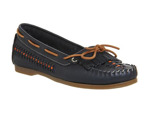 woven shoes womens womens office woven boat shoes navy leather flats