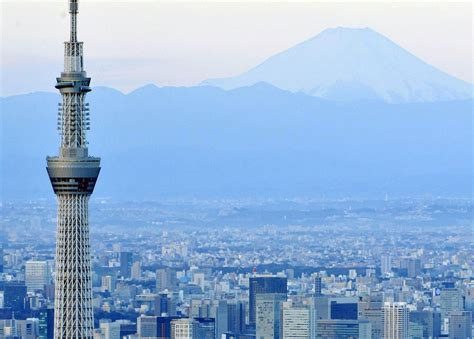 Tokyo Skytree Observation Deck by Skytree Visited By 910 000 Over Four Day Period The