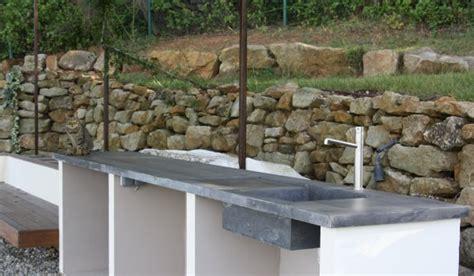 Comment Construire Un Escalier En Béton 3795 by Plan De Travail Exterieur Pour Plancha Survl