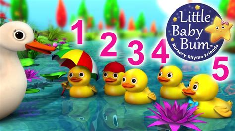 Five little ducks nursery rhymes from littlebabybum youtube