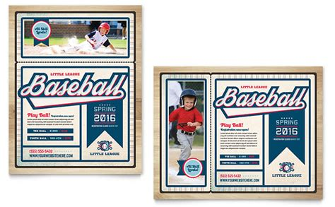 baseball card template indesign baseball league poster template design