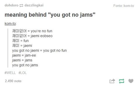 Bts Meaning | meaning behind you got no jams