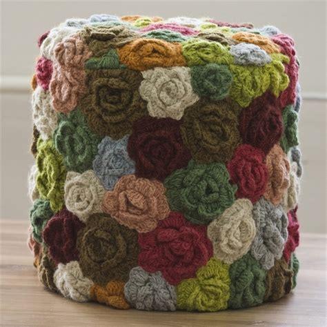 cojines con rosas a crochet cojines tejido imagui