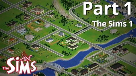 sims r city stories let s play the sims 1 part 1 youtube