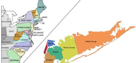 map  nyc boroughs  long island  travel information