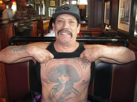 danny trejo chest tattoo pleaded skirts 25 looking tag tattoos designs