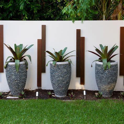 Lawn Garden Decor Sensational Plant Pots Decorating Ideas For Aesthetic Landscape Tropical Design Ideas With