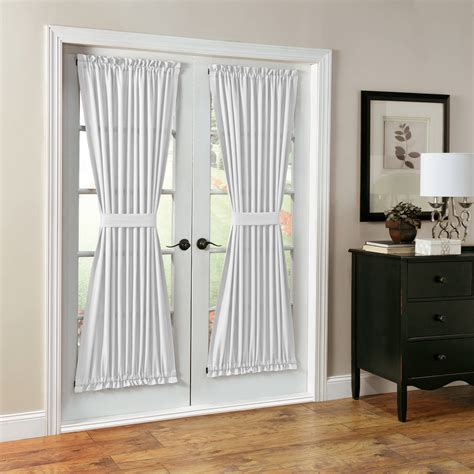walmart french door curtains french door curtains walmart com
