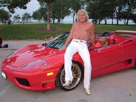 fake ferrari funny curly blonde ferrari driver for hire autoevolution