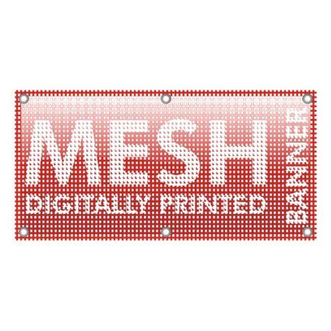 Printable Mesh Banner | mesh banners one print ltd