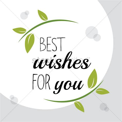 best wishes for you best wishes for you vector image 1811270 stockunlimited