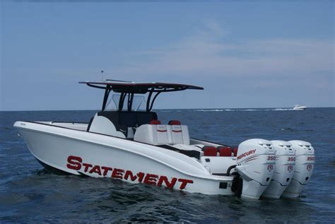 statement boats for sale 2017 used statement 38 center console center console