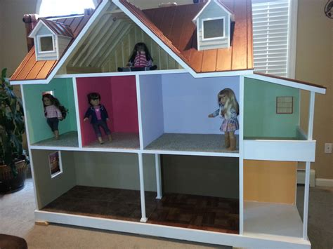 american dolls houses custom built american girl 18 inch doll house one of a kind american girls doll