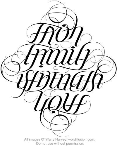 backwards tattoo generator 53 best images about ambigrams on pinterest logos