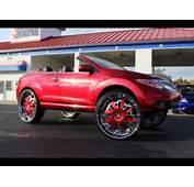 WhipAddict Kandy Red Nissan Murano Convertible On Amani