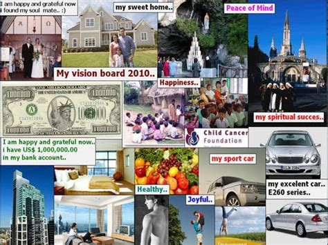 visio board a nyc writer s journey some vision board exles for