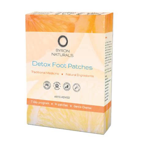 Detox Project Box by Detox Foot Patches 14 Patches 7 Pairs