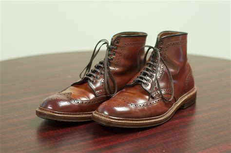 boot colors the color 4 wingtip boot alden of san diego